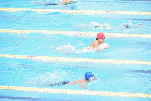 Medley relay breaststroke