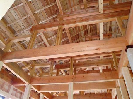 목조 주택 건설 현장 12
