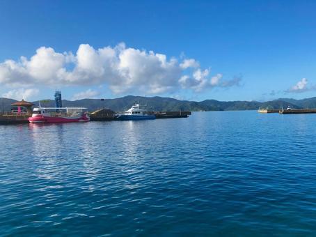 Koniya Port on Amami Oshima