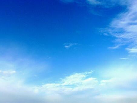 Sky and cloud background material