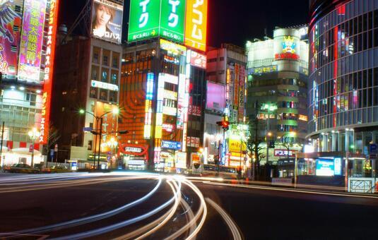 Night view of Shinjuku (Kabukicho)