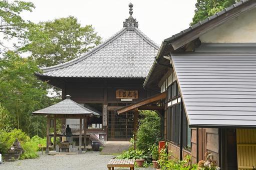 """Fukou-ji Temple """"Main Hall"""""""