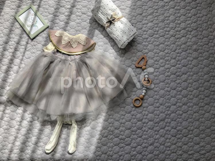 おしゃれなベビー服の写真