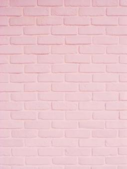 ピンクのレンガ (縦バージョン)