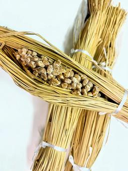 Food material __ Straw natto 4