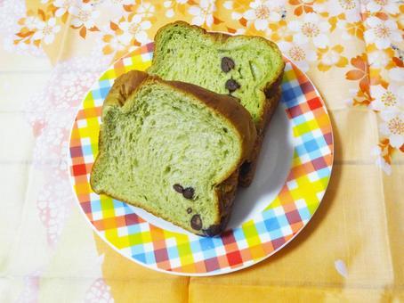 녹차 데니쉬 식빵