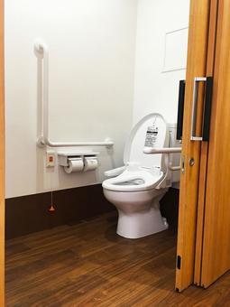 The elderly housing toilet 2