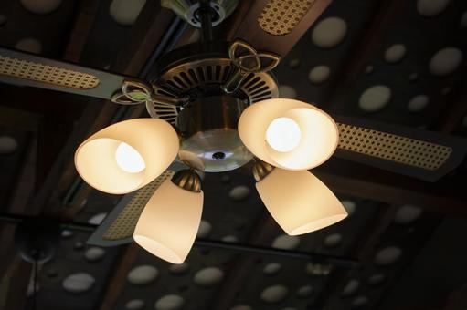 Fashionable ceiling fan light