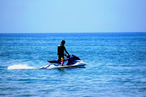 Scenery to enjoy a personal watercraft