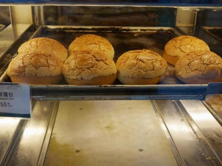 香港咖啡廳菠蘿包子(菠蘿包子)