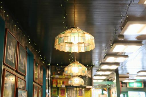 Fashionable retro lamp
