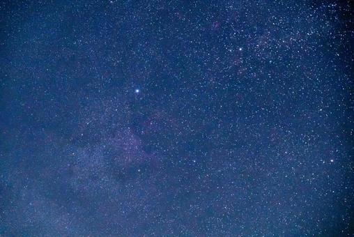 Summer starry sky