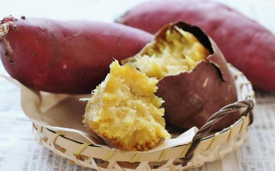 Hafuhafu roasted sweet potato