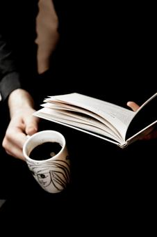 Reading and coffee 3