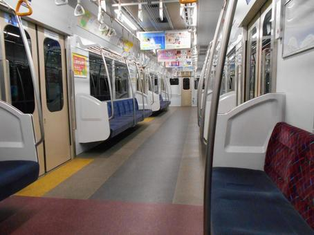 Unmanned train Inside the train (3)
