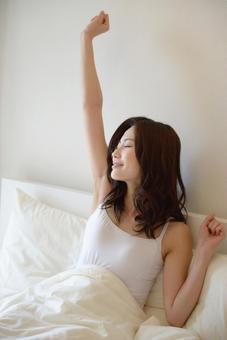 Waking-up lady 3