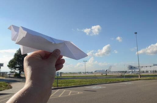 Paper flight machine 58