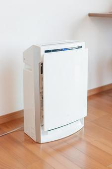 Humidified air purifier