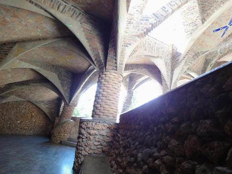 Colonia Guell Church Roof