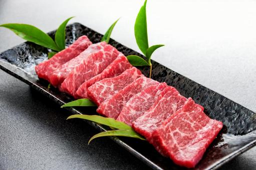Beef for grilled meat