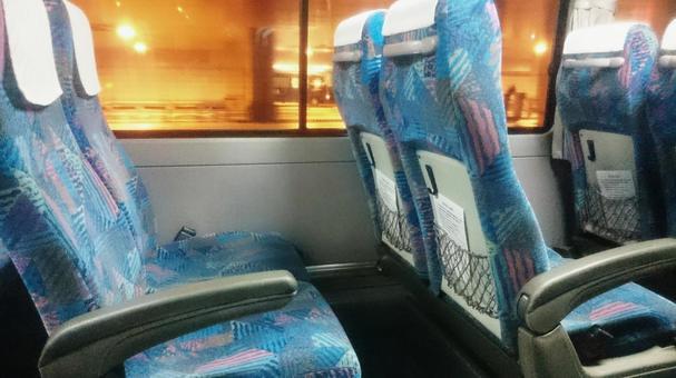 Tourist bus seat