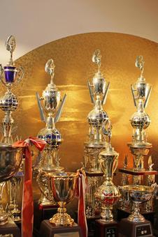 Shining trophies