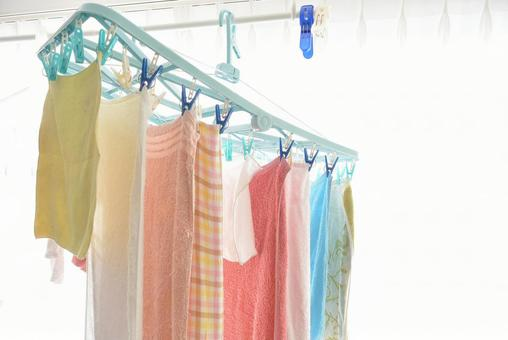 Laundry for indoor drying