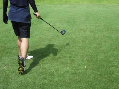 高尔夫球手