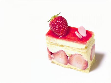 Strawberry cake. 02