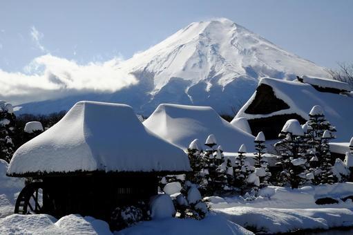 Mt. Fuji from Oshino Village 8