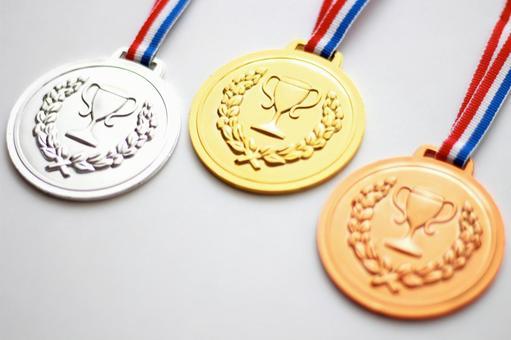 金银铜奖牌2