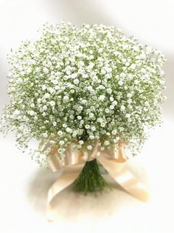 Wedding bouquet Clam clover clutch