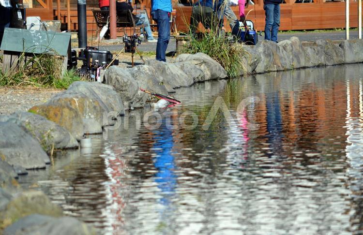 管理釣り場 の写真