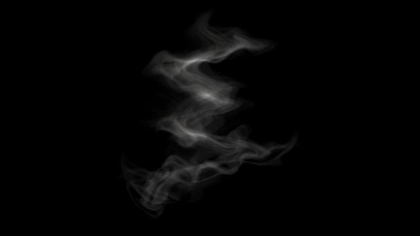 Smoke steam psd file layer