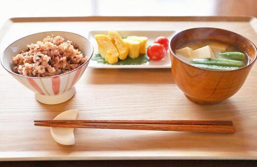 Japanese breakfast breakfast breakfast