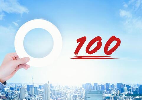 100 points round
