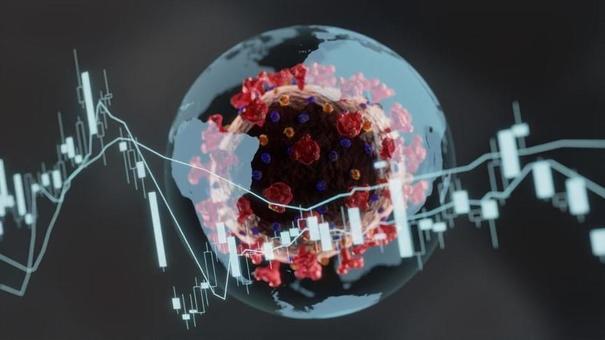 코로나 바이러스와 세계 경제의 주가 하락