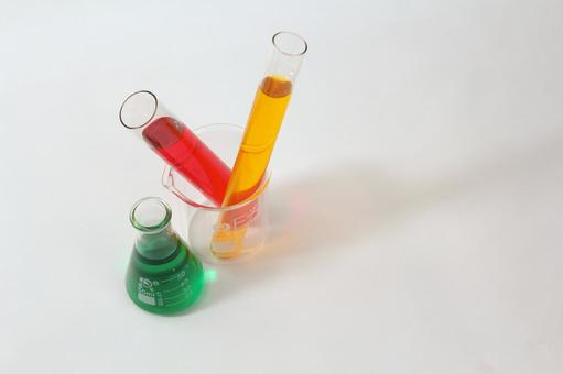 Test tube and flask 2
