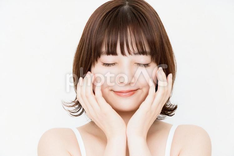 スキンケア・女性の写真
