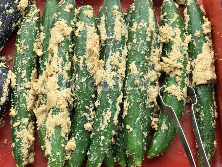 胡瓜の糠漬けの写真