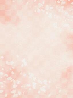 Sakura Japanese pattern background material texture