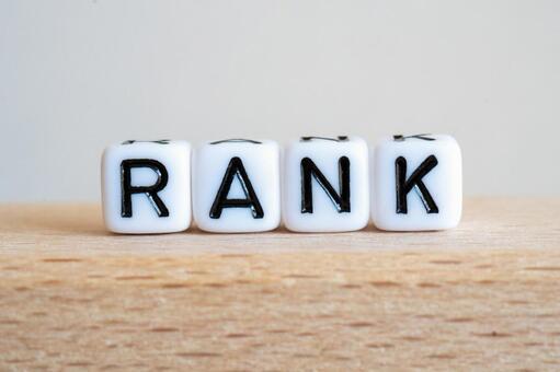 RANK Character Material Cube