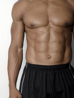 Athlete's abdominal muscle 10