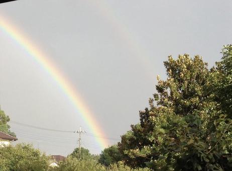 A rainbow has appeared!