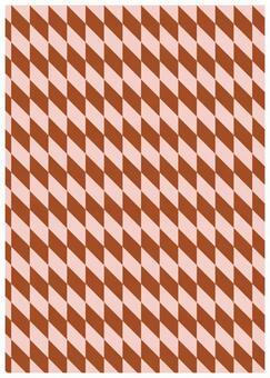Geometric texture parallelogram pink