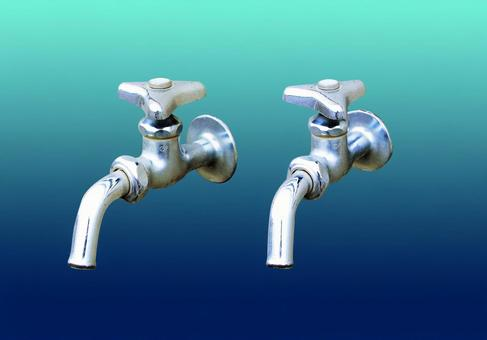 Two types of faucet cutouts