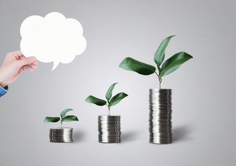 金錢養育和講話泡泡評論