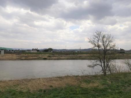 Abukuma River Koori Town, Date City