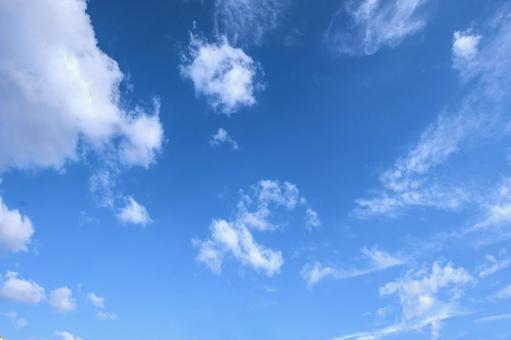 Blue sky and cloud 75