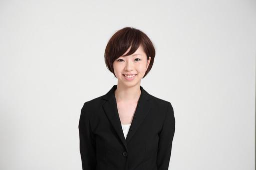 Female employee wearing a suit 4